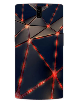 Broken Abstract OnePlus 1 Mobile Cover Case