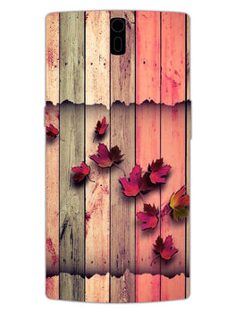 Color Wood OnePlus 1 Mobile Cover Case
