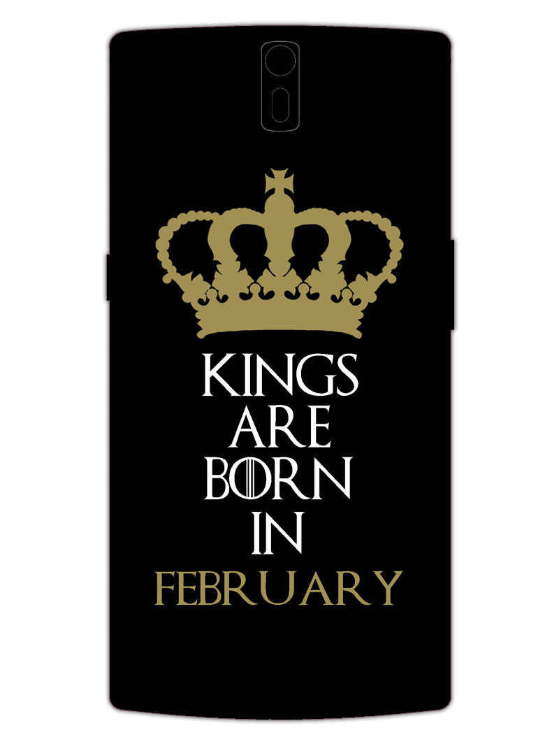 Kings February OnePlus 1 Mobile Cover Case