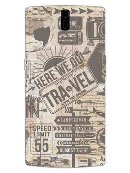 Wanderlust Graffiti OnePlus 1 Mobile Cover Case