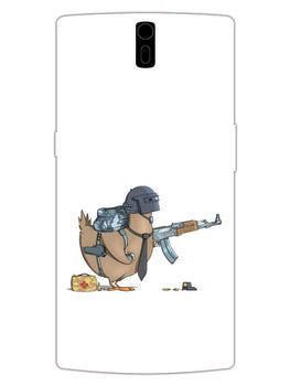Chicken Soldier Pub G Lover OnePlus 1 Mobile Cover Case