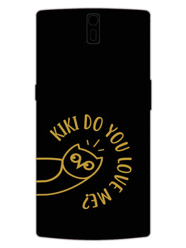 Cute Owl Pub G OnePlus 1 Mobile Cover Case