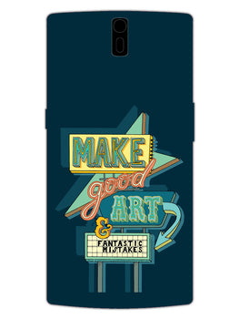 Make Good Art OnePlus 1 Mobile Cover Case