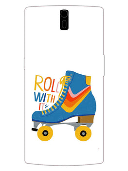 Roller Skate Play With Fun OnePlus 1 Mobile Cover Case