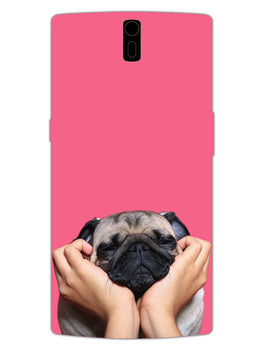 Funny Pug Dog Lovers OnePlus 1 Mobile Cover Case