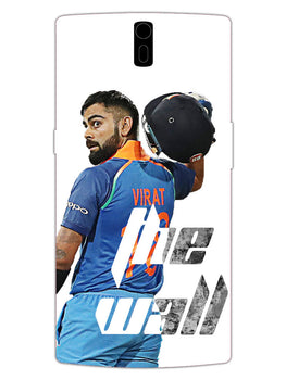 Kohli The Wall Cricket Lover OnePlus 1 Mobile Cover Case