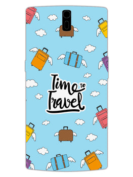 Time To Travel OnePlus 1 Mobile Cover Case