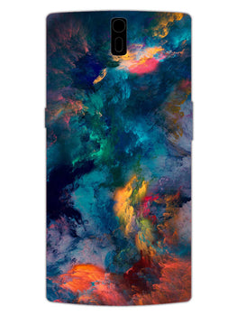 Color Storm OnePlus 1 Mobile Cover Case