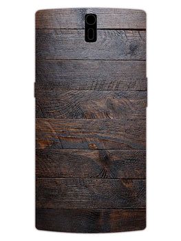 Wooden Wall OnePlus 1 Mobile Cover Case