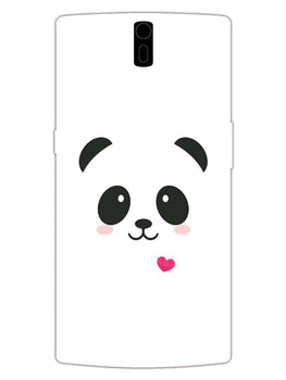 Cute Little Panda OnePlus 1 Mobile Cover Case