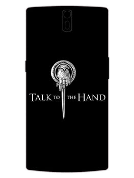 Talk To Hand OnePlus 1 Mobile Cover Case