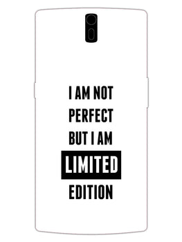 I Am Limited Edition OnePlus 1 Mobile Cover Case
