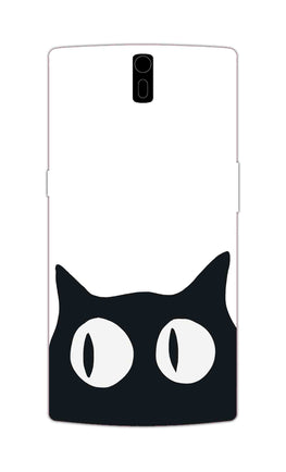 Cat Face Cat Lovers OnePlus 1 Mobile Cover Case