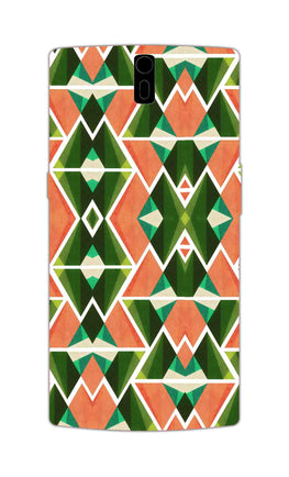 Diamond Geometric Pattern OnePlus 1 Mobile Cover Case