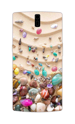 Sea Shell Collection Beach Lovers OnePlus 1 Mobile Cover Case