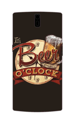 Beer Oclock Beer Lovers OnePlus 1 Mobile Cover Case