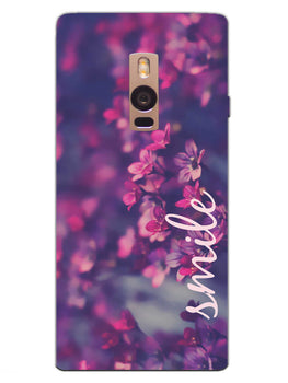 Floral Smile OnePlus 2 Mobile Cover Case