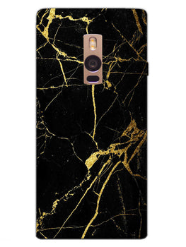 Classy Black Marble OnePlus 2 Mobile Cover Case