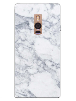 Chic White Marble OnePlus 2 Mobile Cover Case