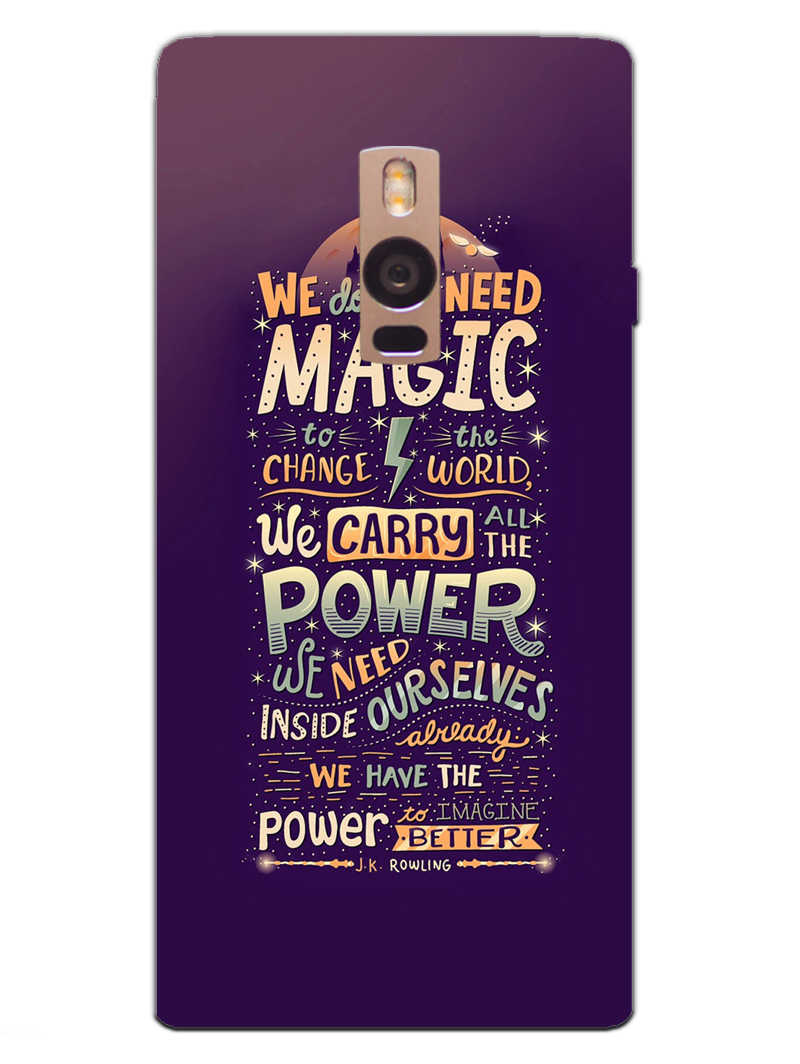 Harry Potter Quote OnePlus 2 Mobile Cover Case