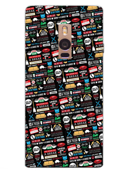 FRIENDS OnePlus 2 Mobile Cover Case