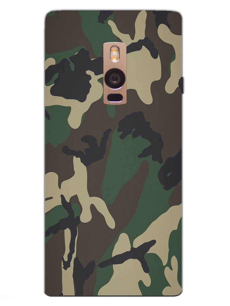 Camouflage OnePlus 2 Mobile Cover Case