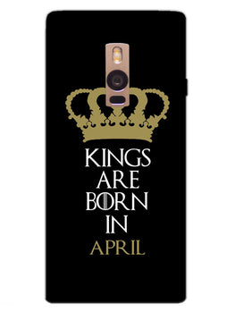 Kings April OnePlus 2 Mobile Cover Case