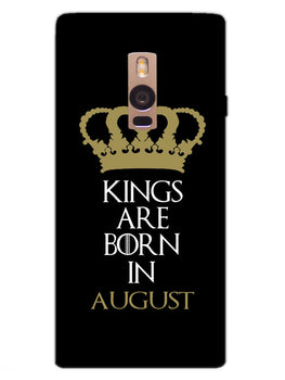 Kings August OnePlus 2 Mobile Cover Case