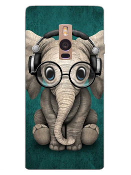 Cute Elephant OnePlus 2 Mobile Cover Case