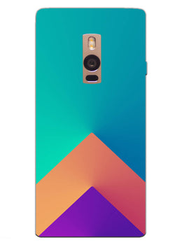 Triangular Shapes OnePlus 2 Mobile Cover Case
