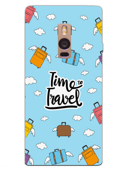 Time To Travel OnePlus 2 Mobile Cover Case