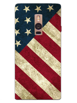American Flag Art OnePlus 2 Mobile Cover Case