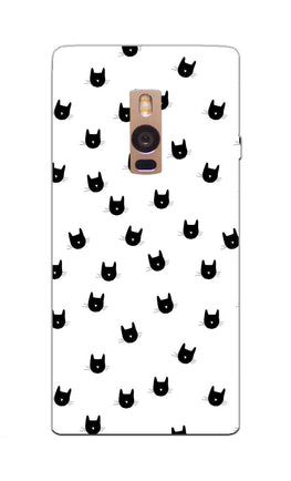 Cats Everywhere Cat Lovers OnePlus 2 Mobile Cover Case