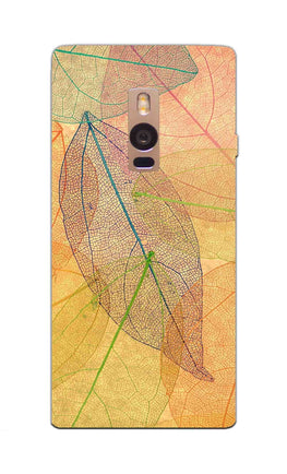 Colourful Leaves Art So Girly OnePlus 2 Mobile Cover Case