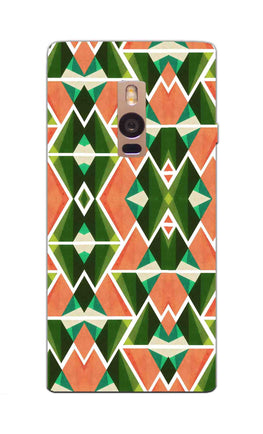 Diamond Geometric Pattern OnePlus 2 Mobile Cover Case