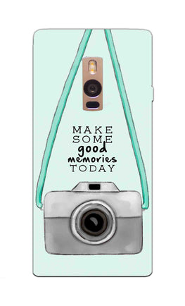 Camera Art For Good Memories OnePlus 2 Mobile Cover Case