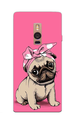Princess Pug Dog Lovers So Girly OnePlus 2 Mobile Cover Case