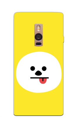 Tongue Out Smile Funny Face OnePlus 2 Mobile Cover Case