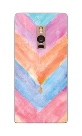 WaterColor Chevron Pattern OnePlus 2 Mobile Cover Case