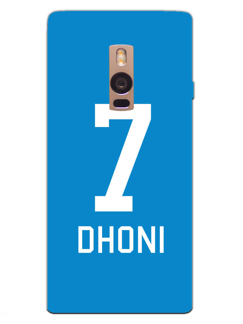 Dhoni Jersey OnePlus 2 Mobile Cover Case