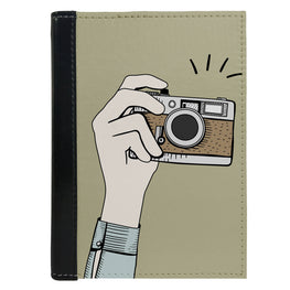 Passport Cover Passport Holder - For Men and Women Capture Images On Camera