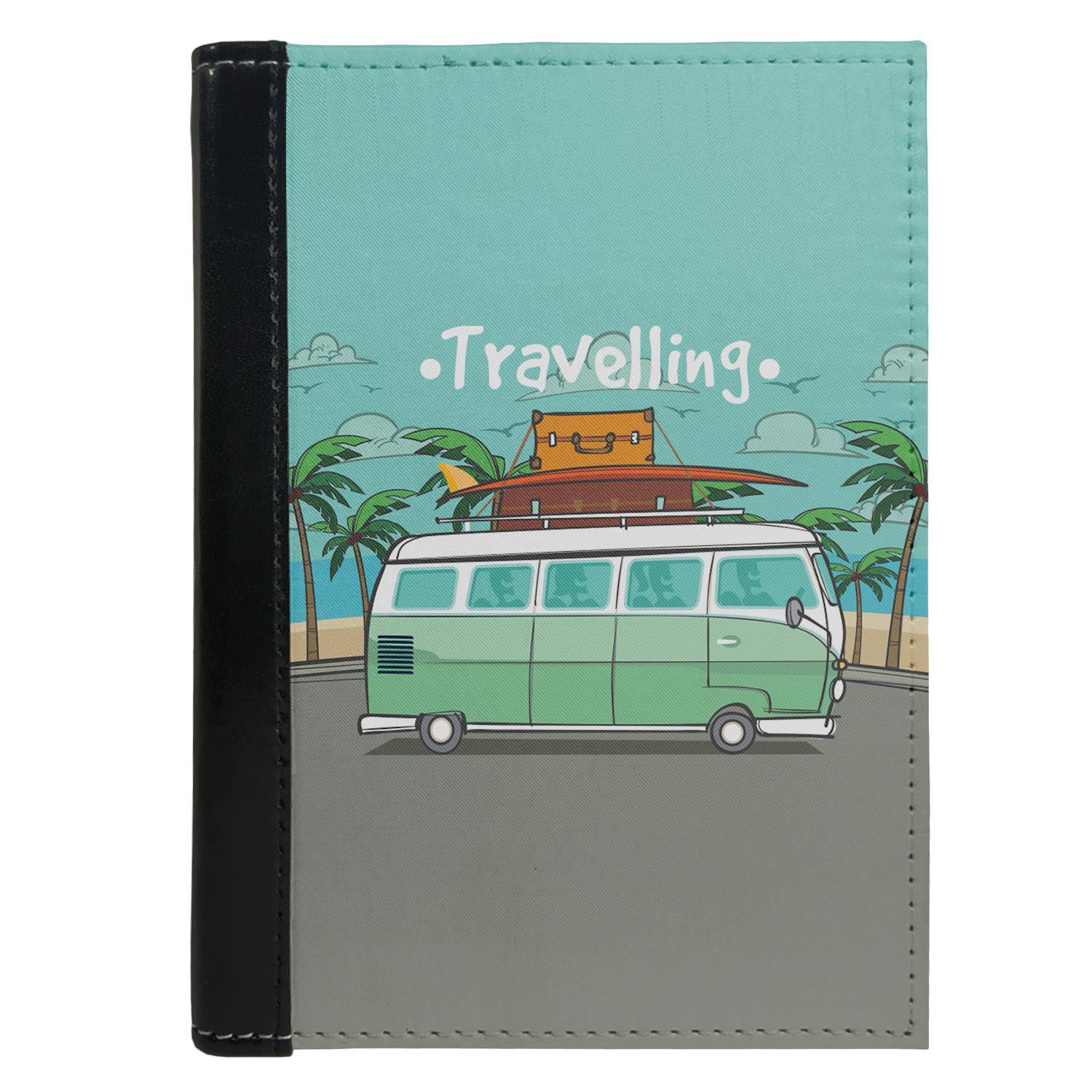 Passport Cover Passport Holder - For Men and Women Travelling Van For Travellers
