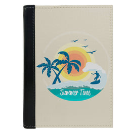 Passport Cover Passport Holder - For Men and Women Summer Time Surfing On Sea For Beach Lovers