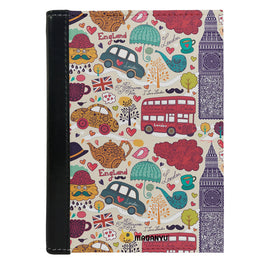 Passport Cover Passport Holder - For Men and Women London Travel Art For Traveller