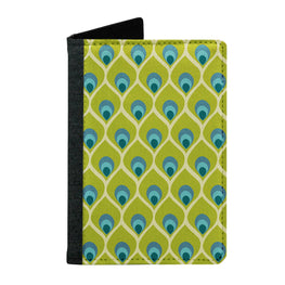 Passport Cover Passport Holder - For Men and Women Peacock Feather Art