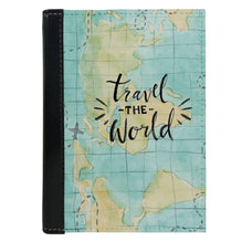 Passport Cover Passport Holder - For Men and Women Travel The World Map