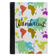Passport Cover Passport Holder - For Men and Women Wanderlust Map