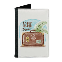 Passport Cover Passport Holder - For Men and Women World Travel With Bag Beach Lovers