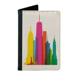 Passport Cover Passport Holder - For Men and Women Colorful Leaves