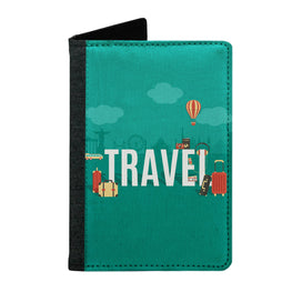 Passport Cover Passport Holder - For Men and Women Travel Typography For Travellers
